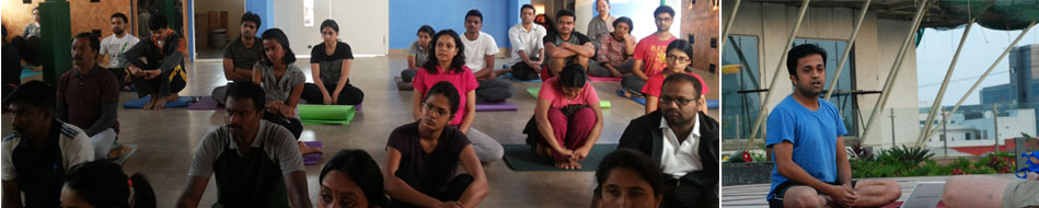 Monthly Talk on Yoga by Vinay Siddaiah