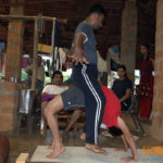 Yoga retreat at Shimoga
