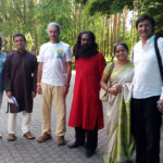 Vinay Siddaiah as guest at International Yoga day in Russia