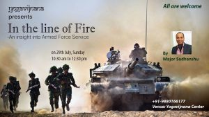 In the life of Fire talk by Army Major
