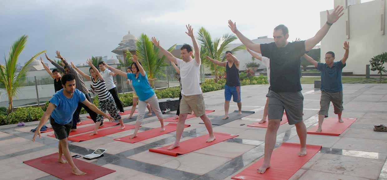 Yoga workshop in Bangalore by Yogavijnana conducted by Vinay Siddaiah