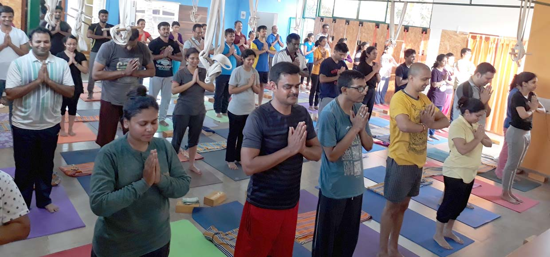 Yoga center Yogavijnana in Bangalore