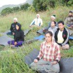 Silent treks by Yogavijnana