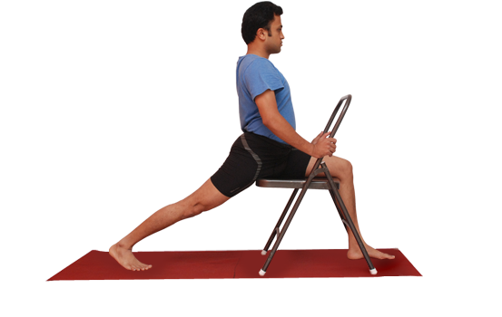 Yoga postures demo by Vinay Siddaiah